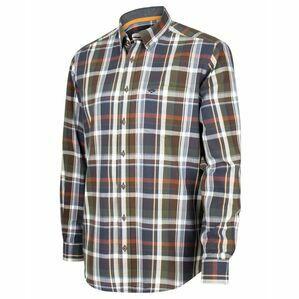 Hoggs Luthrie Plaid Shirt - Navy Check