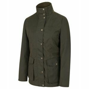 Hoggs Caledonia Ladies Wax Jacket - Antique Olive