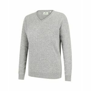 Hoggs Lauder Ladies Cable Pullover - Grey