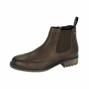 Hoggs Dunbeg Waterproof Side-zip Dealer Boot - Antique Brown