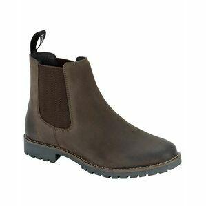 Hoggs Ladies Jodhpur Dealer Boot - Brown