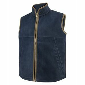 Hoggs Stenton Technical Fleece Gilet - Midnight Navy