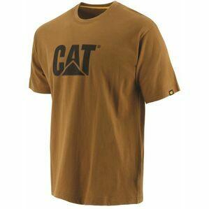 Caterpillar Trademark Logo T-Shirt - Bronze