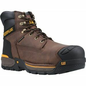 Caterpillar Excavator Lace Up Safety Hiker Boot in Espresso
