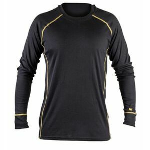 Caterpillar Thermo Long Sleeve Shirt in Black