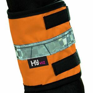 HyVIZ Leg Bands - Orange/Black