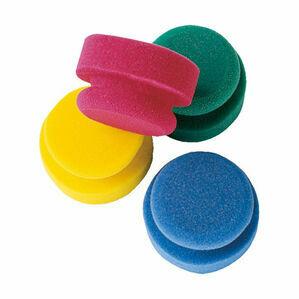 Haas Puck Sponge - Assorted Colours (90 x 50mm)
