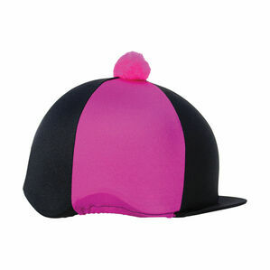 HyFASHION Two Tone Bobble Hat Cover - One Size