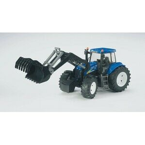 Bruder New Holland T8040 With Frontloader Toy