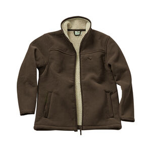 Hoggs of Fife Clydesdale Heavy Fleece Jacket -  Brown