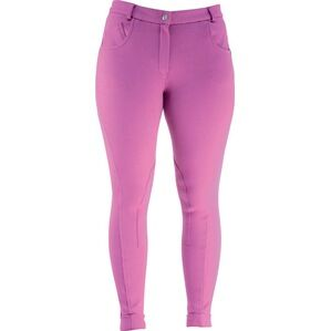 HyPERFORMANCE Melton Children\'s Jodhpurs - FUCHSIA