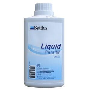 Battles Liquid Paraffin B.P. For Horses - 500ml