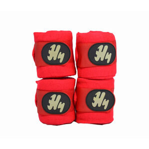 Hy Stable Bandage Pack of 4 - Red