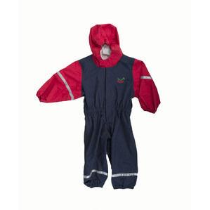 Keela Waterbug Children\'s Waterproof All In One Suit - Navy/Red