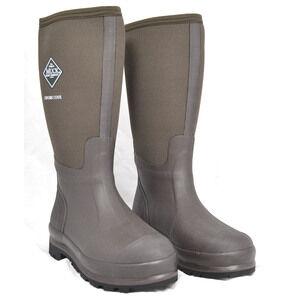 Chore Hi, Classic Muck Work Wellington Boots - Moss Green