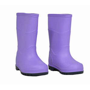 Berwick Infants Border Wellington Boots - Lilac