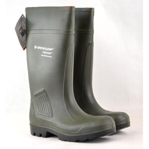 Dunlop Purofort Professional Green Wellington Boots