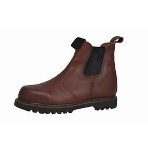 Hoggs of Fife Shire-Non-Safety Dealer Work Boots - Dark Brown