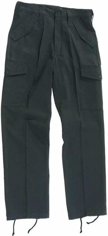 hot products well known details for Blue Castle Black Combat Trousers
