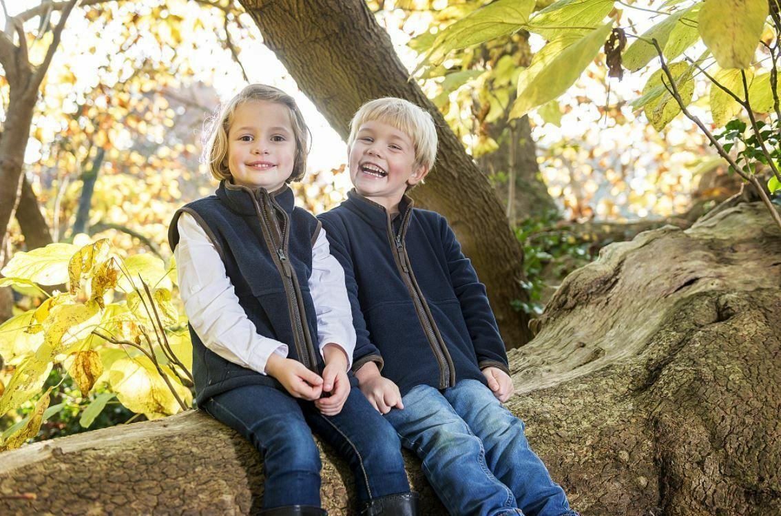Burgundy Baleno Wizz Kids Fleece Gilet