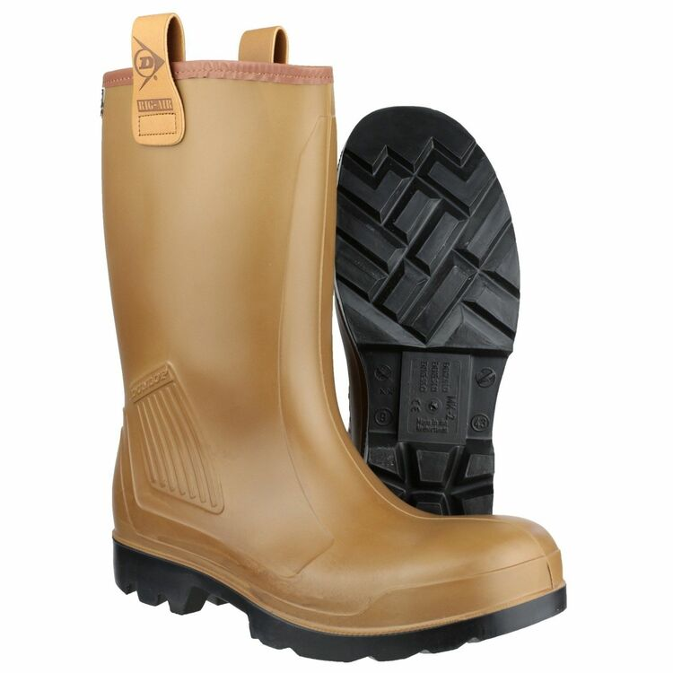 ec6151764c9 Dunlop Purofort Rig Air Full Safety Wellington Boots