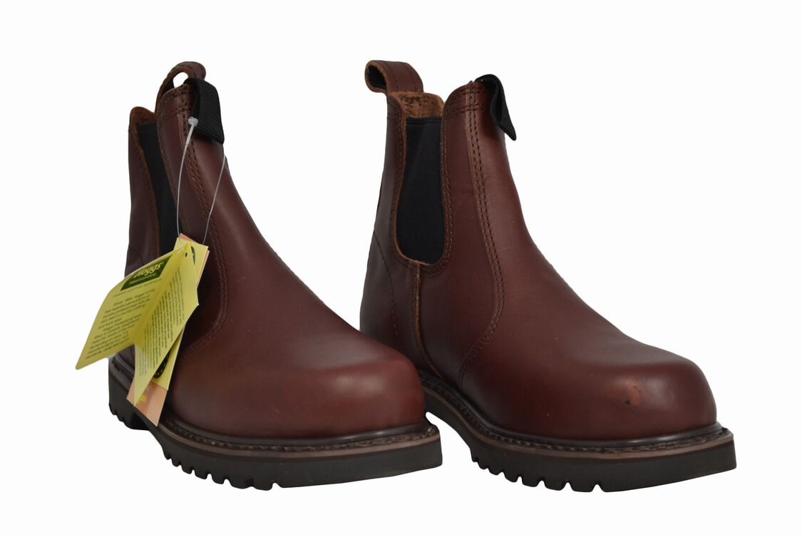 dfdfd3ab5f7 Hoggs of Fife Shire Non-Safety Dealer Work Boots - Dark Brown