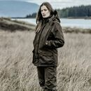 Hoggs Of Fife Ladies Hunting Jacket Rannoch - Brown additional 2