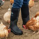 Muck Boots Arctic Sport Tall Wellington Boots in Black additional 9