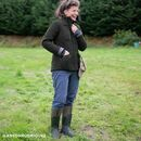 Muck Boots Chore 2K Tall Wellington Boots in Moss additional 9