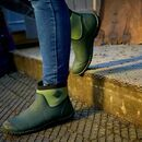Muck Boots RHS Muckster II Ankle Boots in Moss Green additional 9