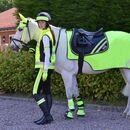 HyVIZ Reflector Horse Leg Wraps - Yellow additional 2