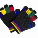 Hy5 Magic Adults Riding Gloves - MULTI COLOURED additional 1
