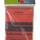 Highlander Emergency Camping Survival Bag - Orange additional 1