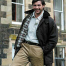 Hoggs Of Fife Padded Waxed Jacket - Brown additional 2