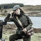 Hoggs Of Fife Cheltenham Ladies Belted Waxed Jacket additional 2