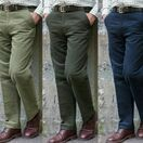 Hoggs of Fife Men's Monarch Moleskin Trousers additional 1