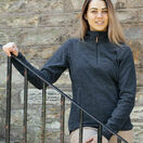 Hoggs of Fife Ladies Woburn All Season Pullover - Marled Blue additional 1