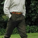 Hoggs of Fife Moleskin Shooting Breeks - Dark Olive additional 2