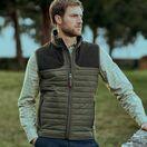 Aigle Crochy Sleeveless Gilet Vest - Brown additional 2