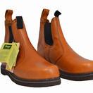 Hoggs of Fife Orion Non-Safety Dealer Boots - Golden Tan additional 5