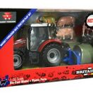 Britains Massey Ferguson 5612 Build Your Farm Set - 43205 additional 4