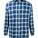 Hoggs Orkney Blue Check Flannel Shirt additional 1