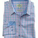 Hoggs of Fife \'Becky\' Ladies Check Cotton Shirt - Pink/Blue additional 3