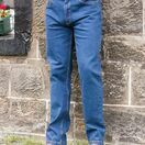 Hoggs of Fife Men\'s Comfort Fit Jeans in Dark Stonewash additional 1