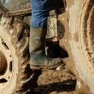 Muck Boots Chore Classic Tall Wellington Boots in Moss additional 11
