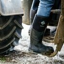 Muck Boots Chore Max Steel Toe Tall Wellington Boots in Black additional 9