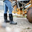 Muck Boots Chore Max Steel Toe Tall Wellington Boots in Black additional 10