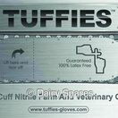 Tuffies Extra Long Blue Nitrile Powder FreeLatex Protective Gloves - 50 Pack GL44X/GL45X additional 2