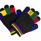 Hy5 Multi-Coloured Magic Riding Gloves - Childs additional 1