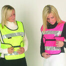 HyViz Reflective Adjustable Tabard Yellow And Navy additional 1